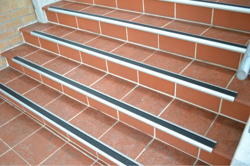 What is the purpose of stair nosing