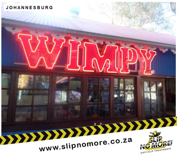 Wimpy Gold Reef City Non Slip Coatings Slip No More